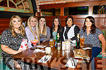 Michelle Daly from Scartaglin celebrating her birthday in the Mall Tavern on Saturday.<br /> L to r: Michelle Daly, Shannon Geary, Megan O'Brien, Grace Stack, Rachel O'Connor and Elena Buckley.