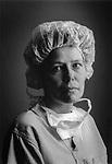 Scan of vintage print. Intensive Care nurse portrait. Williamsport Hospital, File # 95-110 B #2, 1995