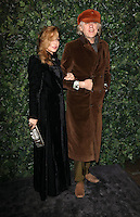Jeanne Marine and Sir Bob Geldof<br /> at the 2017 Charles Finch & CHANEL Pre-Bafta Party held at Anabels, London.<br /> <br /> <br /> ©Ash Knotek  D3227  11/02/2017