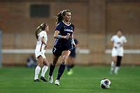 CHAPEL HILL, NC - NOVEMBER 29: Julia Dorsey #7 of the University of North Carolina plays the ball during a game between University of Southern California and University of North Carolina at UNC Soccer and Lacrosse Stadium on November 29, 2019 in Chapel Hill, North Carolina.