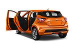 Car images of 2017 Nissan Micra Tekna 5 Door Hatchback Doors
