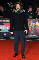 """LONDON, UK. October 08, 2019: Ram Bergman arriving for the """"Knives Out"""" screening as part of the London Film Festival 2019 at the Odeon Leicester Square, London.<br /> Picture: Steve Vas/Featureflash"""