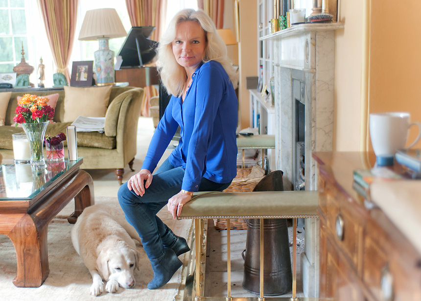 Author Lucinda Riley at home in Norfolk.<br /> <br /> https://www.ft.com/content/f45b9aae-8835-11e3-8afa-00144feab7de