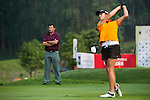 Brooke Hamilton of New Zealand in action during day 3 of the 9th Faldo Series Asia Grand Final 2014 golf tournament on March 20, 2015 at Faldo course in Mid Valley Golf Club in Shenzhen, China. Photo by Xaume Olleros / Power Sport Images