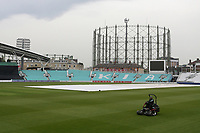 General view as the outfield is prepared ahead of Surrey vs Essex Eagles, Royal London One-Day Cup Cricket at the Kia Oval on 23rd April 2019