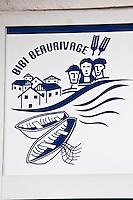 Europe/France/Aquitaine/64/Pyrénées-Atlantiques/Pays-Basque/Biarritz: Mur peint- Quartier Bibi Beaurivage [Non destiné à un usage publicitaire - Not intended for an advertising use]