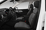 Front seat view of a 2018 Chevrolet Traverse LS 5 Door SUV front seat car photos