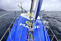 Onboard the Open 60 Macif