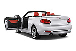 Car images close up view of a 2015 BMW 2 Series  Sport 2 Door Convertible doors