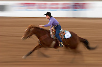 Barrel racers (cowgirls) in the competition in Tucson, Arizona.. .For Editorial use only / Permission from Pro Rodeo Cowboy's Association REQUIRED for any commercial usage..