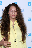LOS ANGELES - APR 25:  Skylar Stecker at the WE Day California at The Forum on April 25, 2019 in Los Angeles, CA