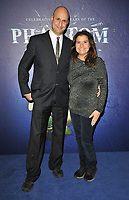 """Raiomond Mirza and Nina Wadia at the """"The Phantom Of The Opera"""" 35th anniversary gala performance, Her Majesty's Theatre, Haymarket, on Monday 11th October 2021, in London, England, UK. <br /> CAP/CAN<br /> ©CAN/Capital Pictures"""