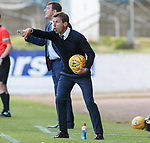 St Johnstone v Dundee…25.08.18…   McDiarmid Park     SPFL<br />An animated Nel McCann<br />Picture by Graeme Hart. <br />Copyright Perthshire Picture Agency<br />Tel: 01738 623350  Mobile: 07990 594431