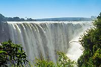 Victoria Falls, at Zimbabwe and Zambia border, Africa