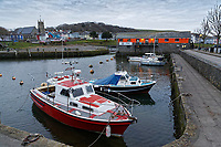 Aberaeron, Ceredigion, Wales, UK. Wednesday 21 March 2018