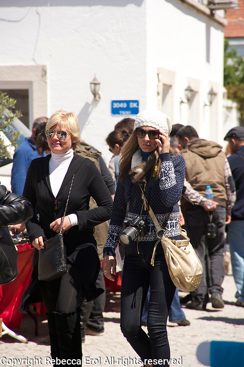 Women in Alacati, Turkey