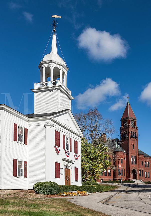 Pinkerton Academy campus, Derry, New Hampshire, USA