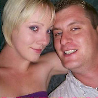 Pictured: Hollie Kerrell with husband Christopher <br /> Re: Christopher Kerrell, 35 has appeared before a judge at Cardiff Crown Court, charged with murdering Hollie Kerrell, a mother of three who had been missing for four days at Knighton, mid Wales, UK.<br /> <br /> Kerrell, who lives at the Whitton area, Knighton, Powys, was charged with killing Hollie Kerrell, 28, when he appeared before Merthyr Magistrates on Sunday.<br /> <br /> The body of Ms Kerrell, also of Knighton, was discovered at a farm four days after her disappearance.
