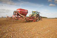10-10-2021 Drilling Winter wheat in Lincolnshire <br /> ©Tim Scrivener Photographer 07850 303986<br />      ....Covering Agriculture In The UK....