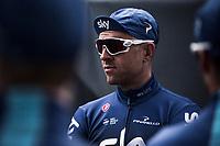 Ian Stannard (GBR/Team Sky), pre race<br /> <br /> 82nd Gent – Wevelgem in Flanders Fields 2019 (1.UWT)<br /> Deinze – Wevelgem: 251,5km<br /> ©kramon