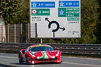 #51 AF CORSE - Ferrari 488 GTE EVO: Alessandro Pier Guidi - James Calado - Côme Ledogar, 24 Hours of Le Mans , Test Day, Circuit des 24 Heures, Le Mans, Pays da Loire, France