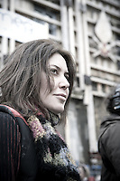 Foto di scena del nuovo film di Sabina Guzzanti, DRAQUILA – L'Italia Che Trema, sarà nelle sale dal 7 Maggio distribuito da BIM.<br /> Ufficio stampa: Alessandro Russo (g. marciano)<br /> GB/Insidefoto <br /> 2010