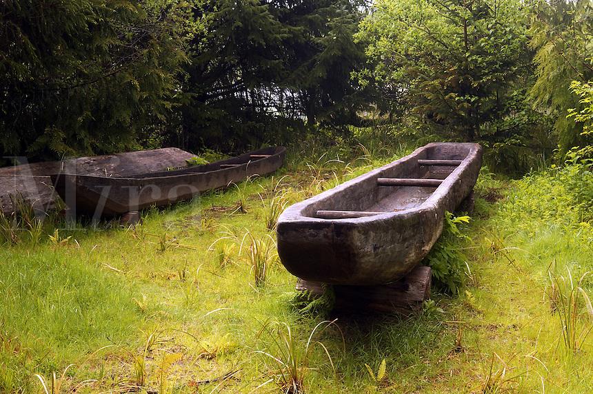 Canoe landing, Fort Clatsop National Memorial, Oregon