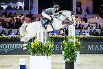 Christian Kukuk of Germany riding Cordess competes in the Masters One DBS during the Longines Masters of Hong Kong at AsiaWorld-Expo on 11 February 2018, in Hong Kong, Hong Kong. Photo by Ian Walton / Power Sport Images
