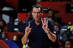 United States´s coach Mike Krzyzewski during FIBA Basketball World Cup Spain 2014 final match between United States and Serbia at `Palacio de los deportes´ stadium in Madrid, Spain. September 14, 2014. (ALTERPHOTOSVictor Blanco)