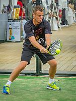 Rosmalen, Netherlands, 13 June, 2019, Tennis, Libema Open, Padel, Lleyton Hewitt (AUS)<br /> Photo: Henk Koster/tennisimages.com