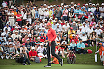 TAOYUAN, TAIWAN - OCTOBER 28:  Suzann Pettersen lines up a putt on the 3rd hole during the day four of the Sunrise LPGA Taiwan Championship at the Sunrise Golf Course on October 28, 2012 in Taoyuan, Taiwan.  Photo by Victor Fraile / The Power of Sport Images