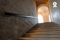 Stairs going up, Vieille Charite, Le Panier, Marseille<br /> (Licence this image exclusively with Getty: http://www.gettyimages.com/detail/85071279 )