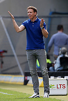 15.04.2018, Wirsol Rhein-Neckar-Arena, Sinsheim, GER, 1.FBL, TSG 1899 Hoffenheim vs Hamburger SV, <br />Trainer Julian Nagelsmann (Hoffenheim) *** Local Caption *** © pixathlon<br /> Contact: +49-40-22 63 02 60 , info@pixathlon.de