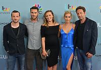 Gethin Anthony + Grey Damon + Michaela McManus + Claire Holt + David Duchovny @ the 'season 2 NBC premiere of 'Aquarius' held @ the Paley Center. June 16, 2016