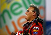 Nov 10, 2013; Pomona, CA, USA; NHRA top fuel dragster driver Doug Kalitta during the Auto Club Finals at Auto Club Raceway at Pomona. Mandatory Credit: Mark J. Rebilas-