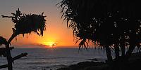 Sunrise in Hana, Maui in the Hawaiian Islands