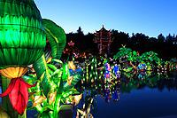 Chinese Lanterns at Montreal Botanical Garden on September 2013.<br /> <br /> File Photo : Agence Quebec Presse