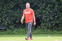 DFB-Sportdirektor Hansi Flick beim Training - Training Deutsche Olympiamannschaft des DFB, Commerzbank Arena, Frankfurt