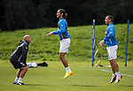 Kenny McDowall watches Bilel Mohsni and Lee McCulloch