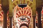 Mezquita (Innenansichten), Cordoba (Stadt), Andalusien, Spanien