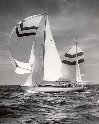 Clayton Ewing's Sparkman & Stephens designed alloy-built Dyna