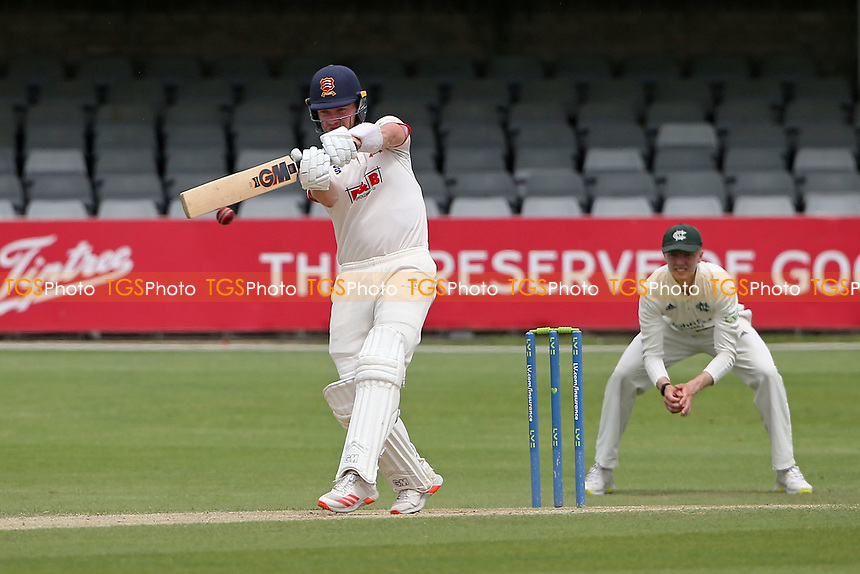 Sam Cook in batting action for Essex during Essex CCC vs Nottinghamshire CCC, LV Insurance County Championship Group 1 Cricket at The Cloudfm County Ground on 6th June 2021