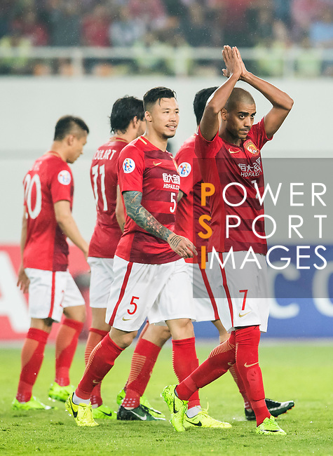 Alan Douglas Borges de Carvalho of Guangzhou Evergrande FC celebrates during their AFC Champions League 2017 Match Day 1 Group G match between Guangzhou Evergrande FC (CHN) and Eastern SC (HKG) at the Tianhe Stadium on 22 February 2017 in Guangzhou, China. Photo by Victor Fraile / Power Sport Images