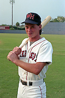 Winter Haven Red Sox Bart Moore poses for a photo circa 1990 at Chain of Lakes Park in Winter Haven, Florida.  (MJA/Four Seam Images)