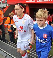 FC Twente - Standard Femina : Audrey Demoustier<br /> foto DAVID CATRY / Nikonpro.be