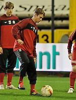 Cercle Brugge KSV - KV Kortrijk : Jonas Malvy Fleury.foto VDB / BART VANDENBROUCKE
