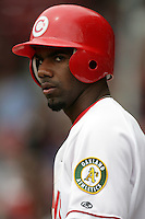 July 12 2009: Myrio Richard of the Vancouver Canadians during game against the Boise Hawks at Nat Bailey Stadium in Vancouver,BC..Photo by Larry Goren/Four Seam Images