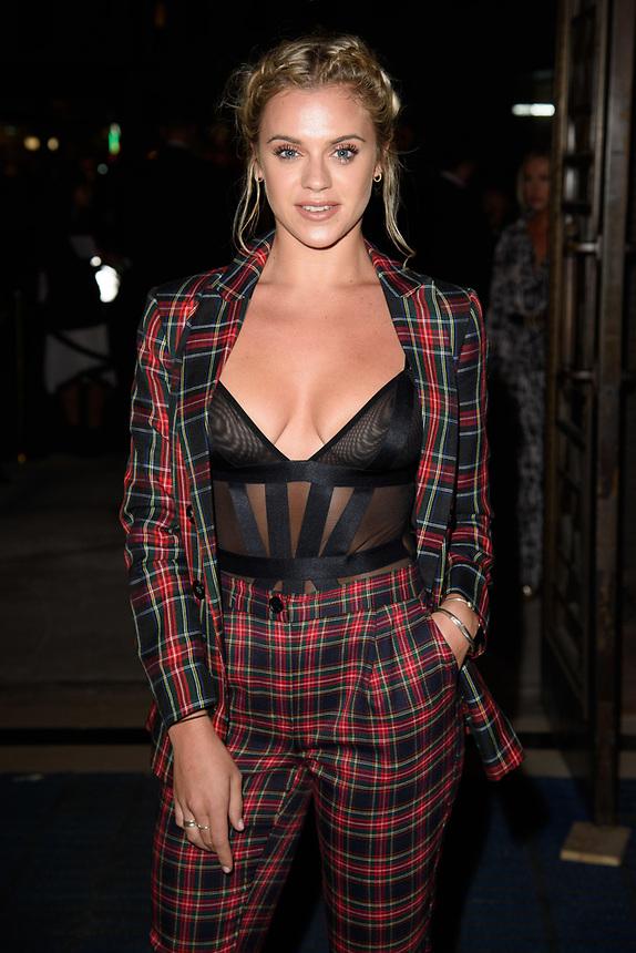 Laura Crane<br /> front row at the Ashley Isham London Fashion Week SS18 catwalk show, London<br /> <br /> ©Ash Knotek  D3431  14/09/2018