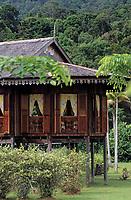 Asie/Malaisie/Bornéo/Sarwak/Kampung Budaya: Rumah Melayu House