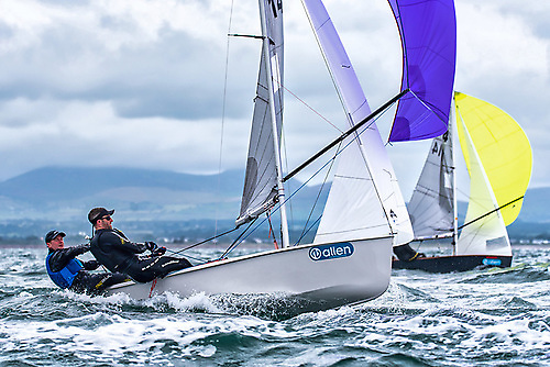 The successful GP 14 Association have one of their Irish strongholds at Sutton Dinghy Club